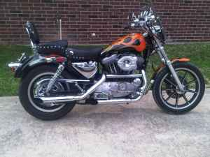 Sportster Before