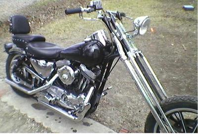 Sportster Chopper After