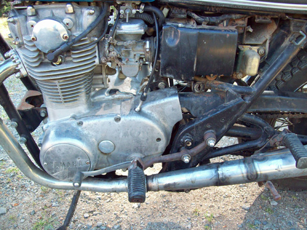 original xs650 engine
