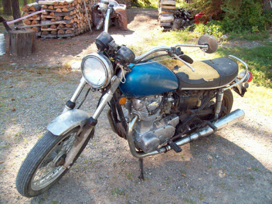 salvaged xs650