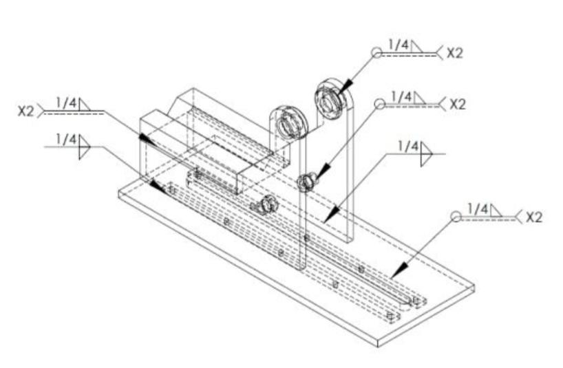 Tubing bender build 42 bending device frame weld plan malvernweather Images
