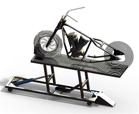 motorcylce lift table