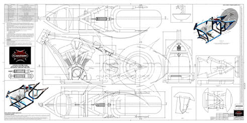 Advice on motorcycle frame blueprints what to look for in motorcycle frame blueprints malvernweather Choice Image