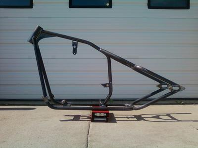 Frame - just built from Big Al Wilkerson of Bitter End Old School Choppers