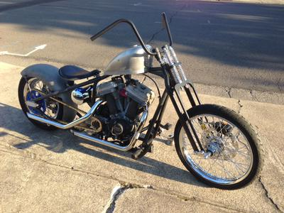 Southern Oregon Buell bobber mock up