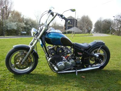 cb750 custom chopper