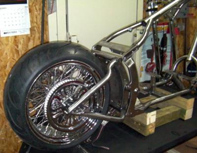 Rear Wheel Installation