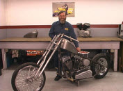 chopper frame build