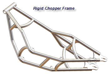 bobber chopper frame