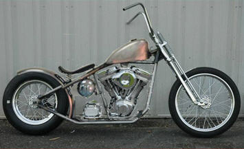 The rolling chopper chassis ebay as a 100 rigid bobber chopper rolling chassis bike kit this is more like a completed bobber kit bike because theres not much do be done to it solutioingenieria Images