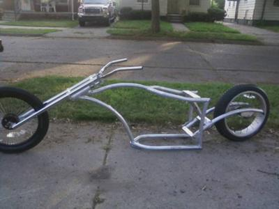 Chopper Moped