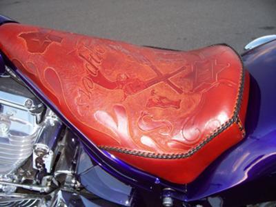 Custom Chopper Seat