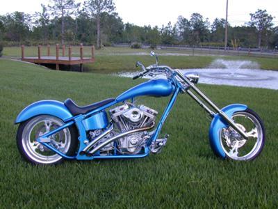 250 softail chopper