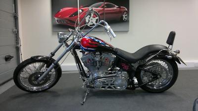 Harley Softail Chopper