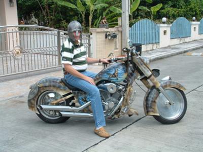 Nordic Theme Motorcycle