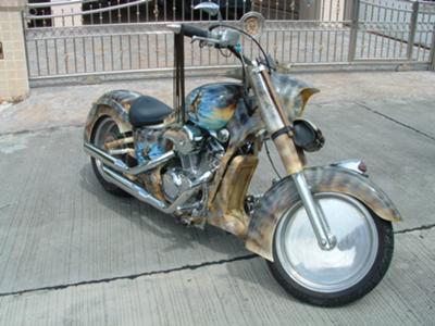 Custom Honda Steed 400 Cc