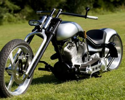 Custom Pro Street Motorcycle