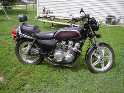 Customized 1981 Honda CB750