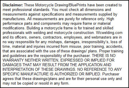 bobber frame plans disclaimer