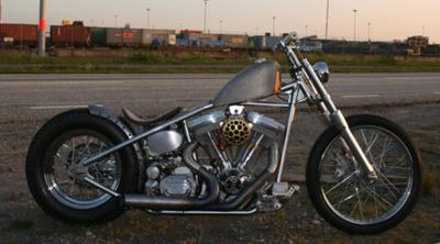 El Bastardo Custom Chopper