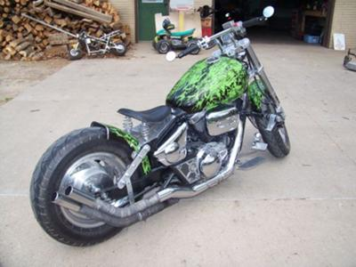 Bobber Motorcycle Project