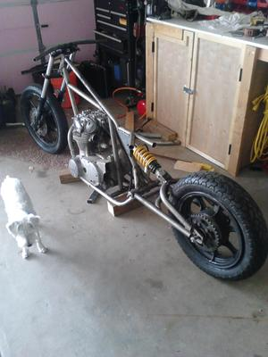 Garage Built Chopper Frame