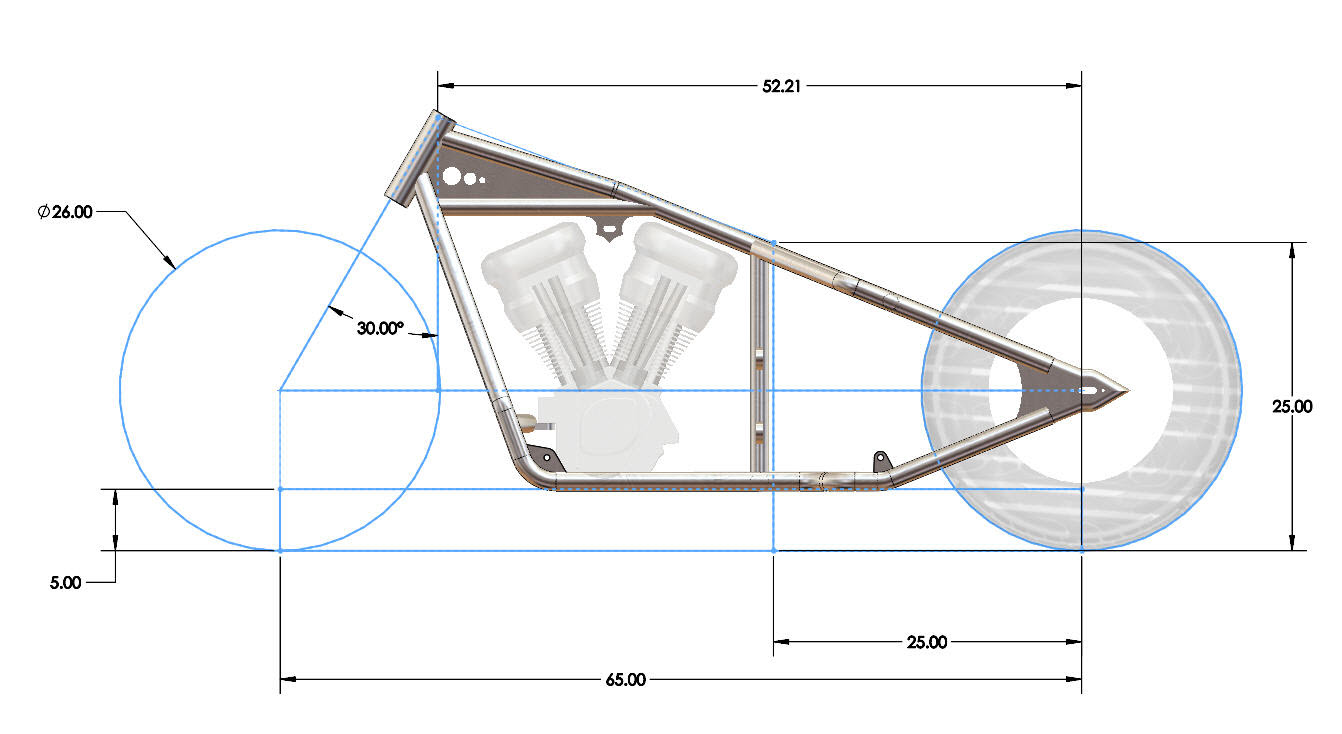 Motorcycle Frame Types : Ground clearance