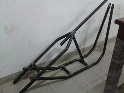 Harley Hardtail frame