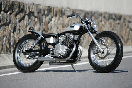 honda rebel chopper
