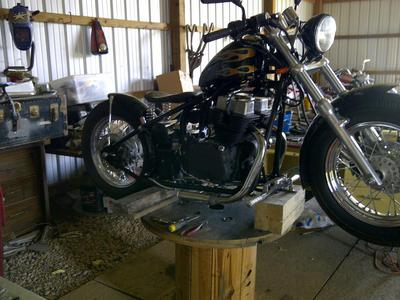 Second Motorcycle Final Build