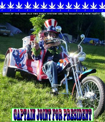 Captain Joint's High Times Freedom Fighter Trike