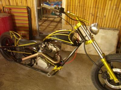 Home Built Chopper