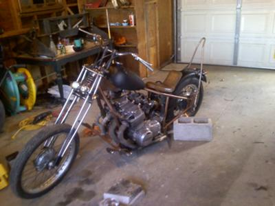 Honda 836cc Chopper
