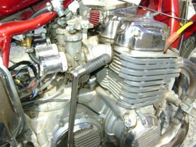 cb 750 four cylinder engine