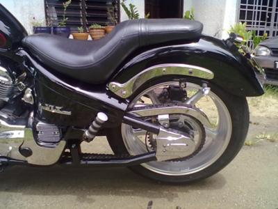 Honda Shadow 600 Rear
