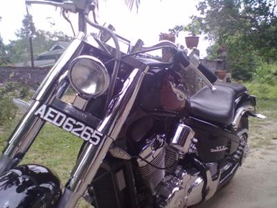 Honda Shadow 600 Softail Front End