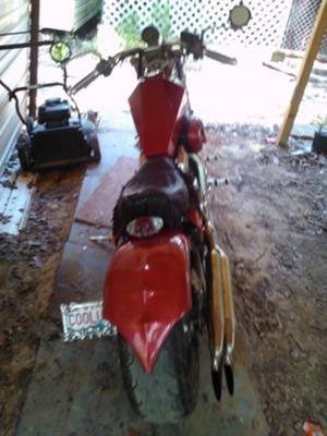 honda vlx 230 rear tire