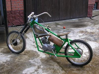 Hardtail Custom Chopper