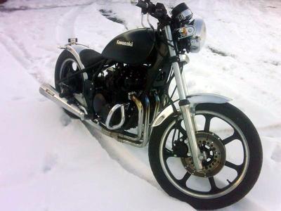 Kawasaki Z 550 Bobber
