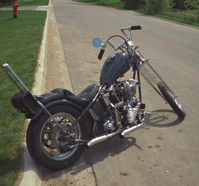 Knucklehead Chopper
