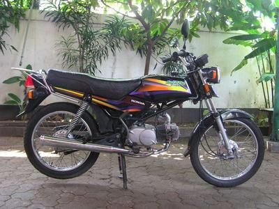 100cc Motorccyle Example Bike I Used For The Chopper Build