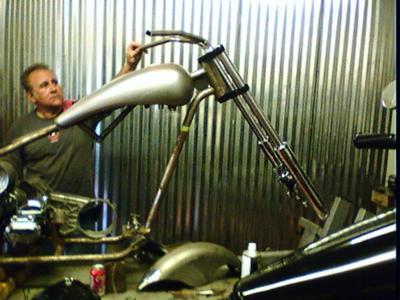 rigid custom chopper