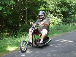 Riding Mini Chopper