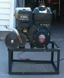 kick starter system and engine