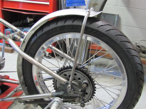 Motorcycle Rear Tire >> Tips On Custom Motorcycle Fenders