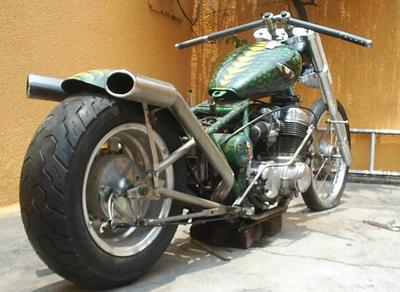 cb 750 custom chopper