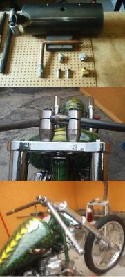 CB 750 Tank and Handle Bar Raisers