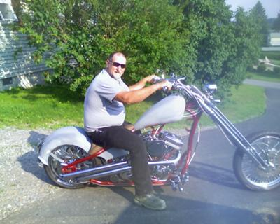 custom chopper build