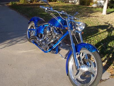 first custom chopper