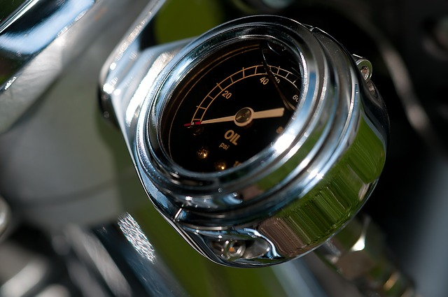 Motorcycle Oil Pressure Gauge